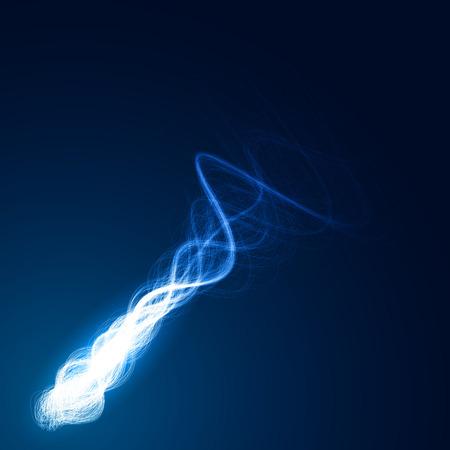 abstract vector: magie komeet abstract vector