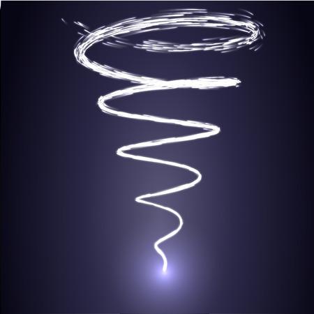 magic swirl vector Vectores