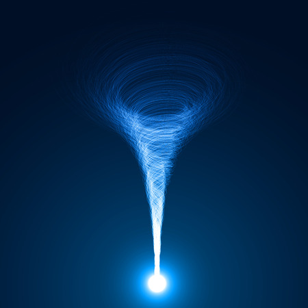 Magie Tornado Vektor Standard-Bild - 33816035
