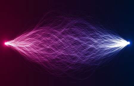 sacred source: dual force abstract vector