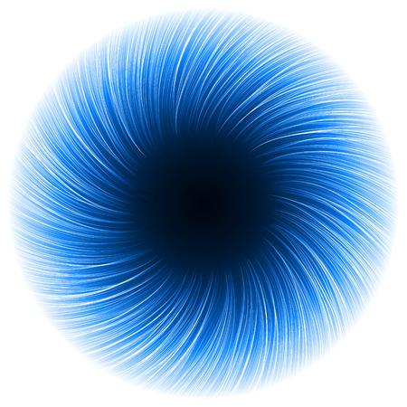 sacred source: dark portal eye abstract.(short vortex lines version)