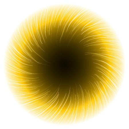 portal: dark portal abstract.(shor turbulenced lines version) Illustration