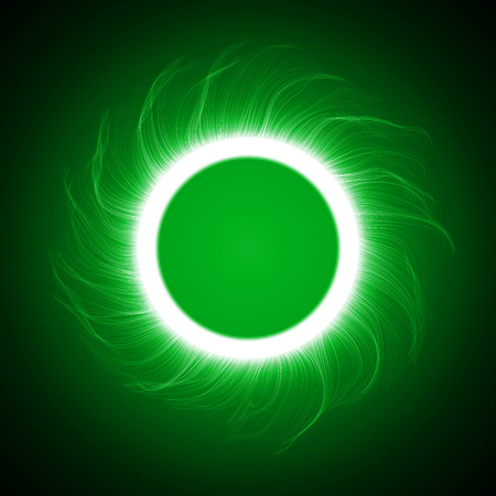 energy ring abstract.(big ring and vortex version) Vector