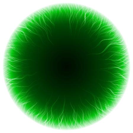 powerfully: dark portal abstract.(turbulenced short lines version)