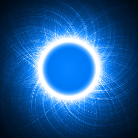 energy ring abstract.(big ring and cross lines version) Vector