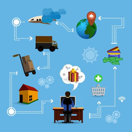 online marketing Vector