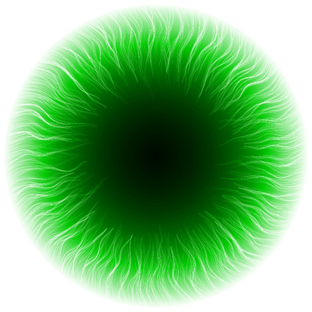 dark portal abstract.(turbulenced lines version) Vector