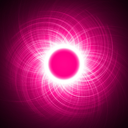sacred source: energy ring abstract.(cross,long lines version)