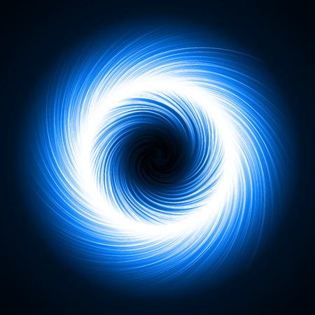 powerfully: rotating dark portal abstract.(short vortex lines version)