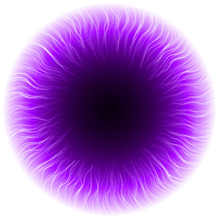 dark portal abstract.(turbulenced lines version) Vector
