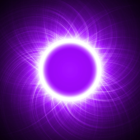 sacred source: energy ring abstract.(big ring and cross lines version)