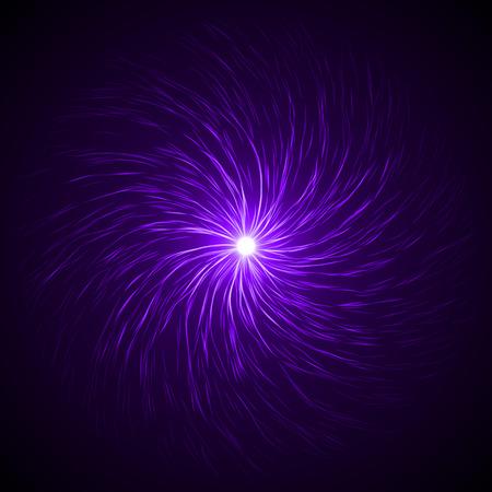 clockwise: souls swarm in the dark ( violet colored,clockwise vortex version.)