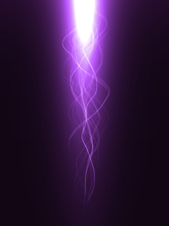 sacred source: blessing effect with energy waves ( violet colored, long waves version)
