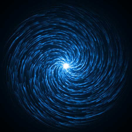 souls swarm in the dark ( blue colored, hard vortex version.)