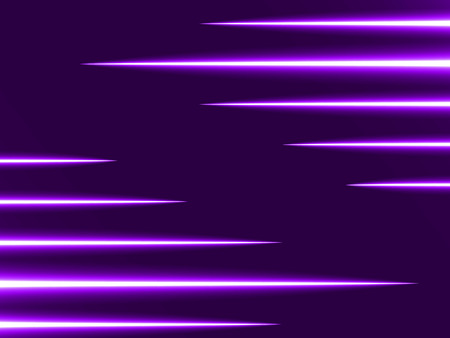 fusion: light rays (horizontal two sided rays,violet colored version)