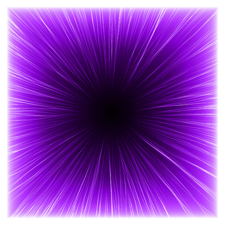 sacred source: from light to dark(violet colored,simple lines version) Stock Photo