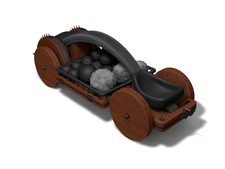 catapult: conceptual catapult design (with ammo)