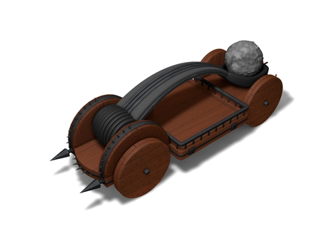 catapult: conceptual catapult design (charged version.)