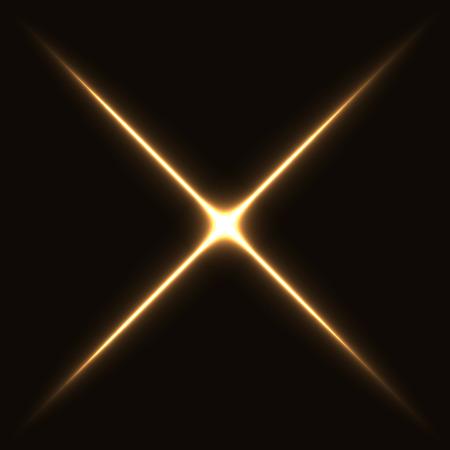 cross light: cross light rays