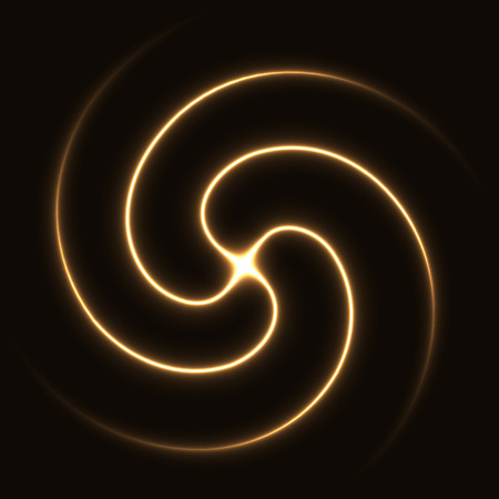 sacred source: cross light rays.(soft vortex deform version) Stock Photo