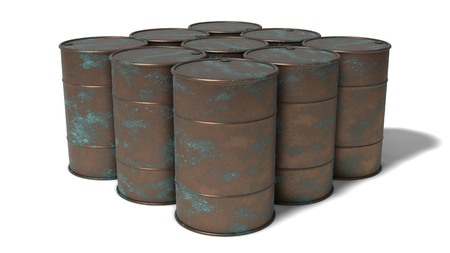 rusted barrels group photo