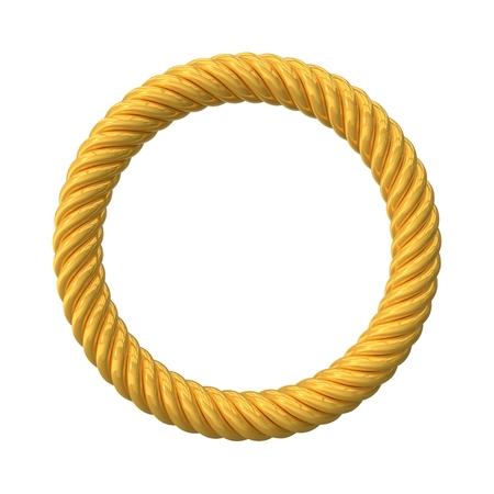 reflectance: twisting circular shape. (golden version)