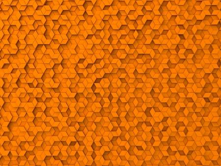 elevated: random elevated geometric shapes background (orange version.)