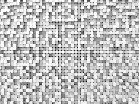 elevated: random elevated geometric shapes background (rounded columns,white version.)