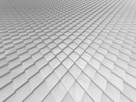 shifted: infinite cubes background. (white colored, fisheye version)