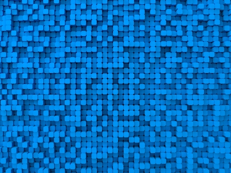 elevated: random elevated geometric shapes background (rounded columns,blue version.)