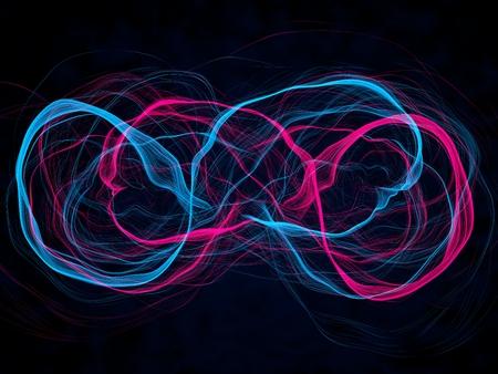 energy waves Foto de archivo