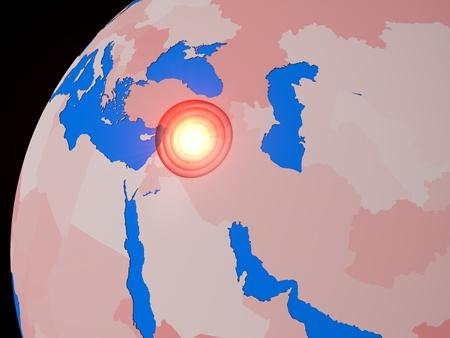 middle east war: middle east war spot