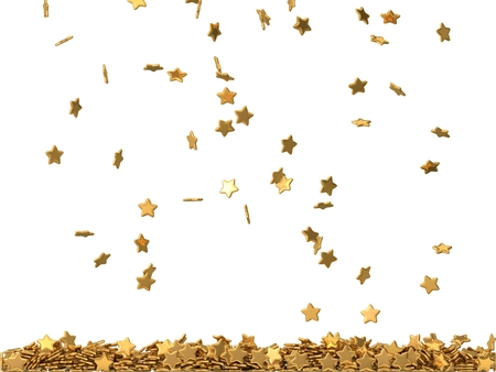 rating: golden rating stars rain