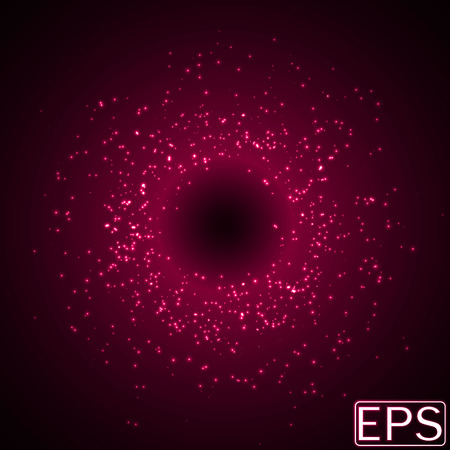 sacred source: random sized energy beams. pink version