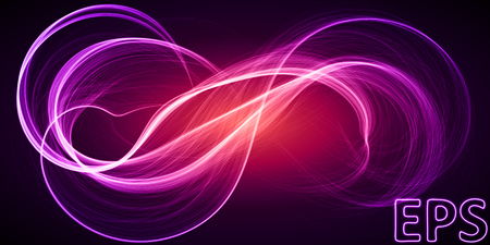 spiritual energy: magical energy illustration. abstract with smooth lines. Illustration