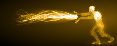 the spectre: spiritual energy attack.