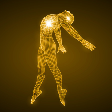energy of the dancing man.