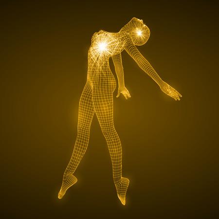 energy of the dancing woman.