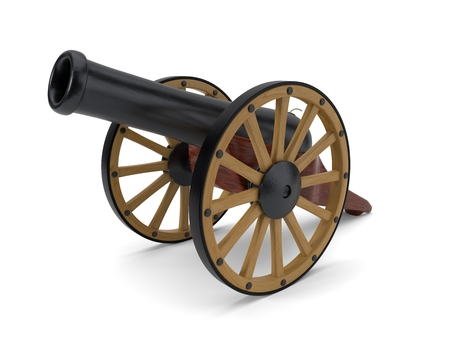 ramadan cannon. 3d illustration Standard-Bild