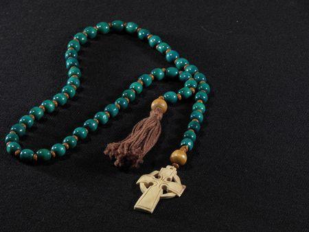 Rosary Prayer Celtic Beads with Tassle