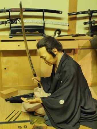 Samurai Warrior Sitting