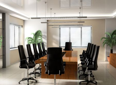plaster wall: Modern Office boardroom exclusive design