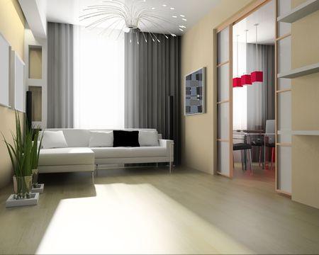 d: light room modern 3 d exclusive design