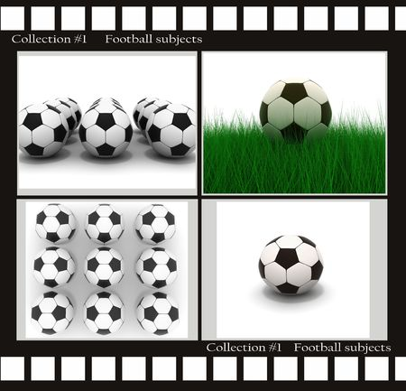 socca: Raccolta di immagini sul calcio soggetti Archivio Fotografico
