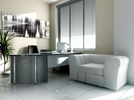 modern office: Modern interior of office