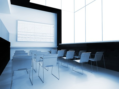 Interior of a school audience for employment Stock Photo - 7966318