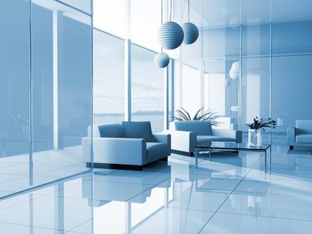 designers interior: luogo di riposo in ufficio immagine 3d
