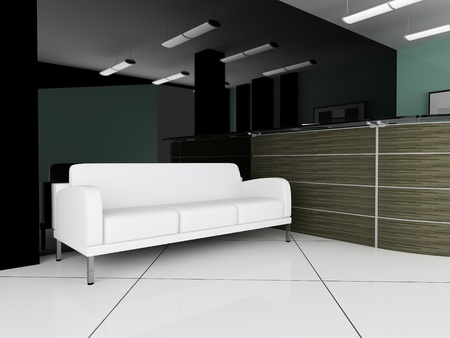 place for rest in office 3d image photo