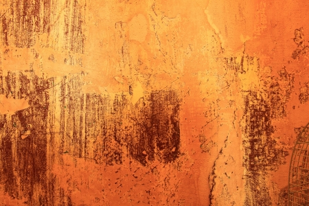 or rust: Fragment of an abstract wall close up Stock Photo