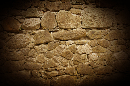 surface level: background of stone wall texture, stock photo